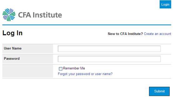 CFA入会流程1